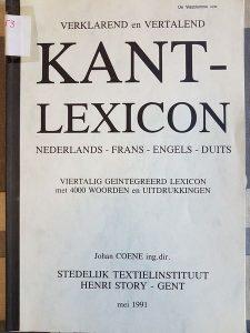 KANT-LEXICON Image